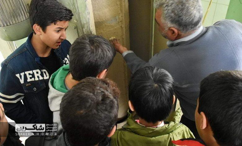 بازدید دانشآموزان از کارخانه آرد